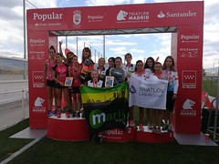 TeamClaveria campeón de Madrid absoluto de contrarreloj por equipos 3