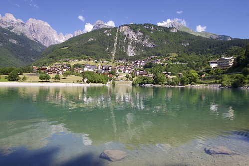 """Molveno Lake • <a style=""""font-size:0.8em;"""" href=""""http://www.flickr.com/photos/104879414@N07/44744831451/"""" target=""""_blank"""">View on Flickr</a>"""