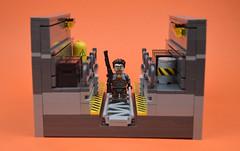 On A Rail... (MinifigNick) Tags: lego afol halflife minifig minifigure gordonfreeman blackmesa