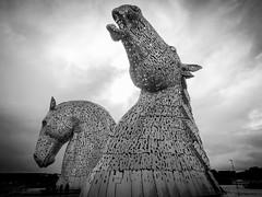 Kelpies (Viking_Iain) Tags: kelpies helix falkirk scotland horse