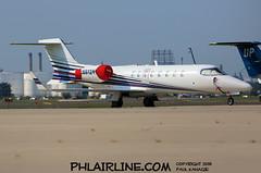N612YM (PHLAIRLINE.COM) Tags: philadelphiainternationalairport kphl phl bizjet spotting spotter airline generalaviation planes flight airlines philly