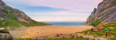 Heavenly Beach (elixiasi) Tags: lofoten norway sea mountains beauty beach sand north