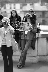 hopeful - Paris 1972 (p.katz) Tags: paris youngpeople blackandwhite parents paulkatz