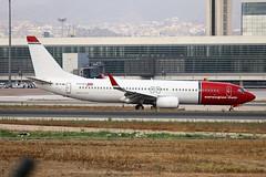 EI-FJN Boeing 737-8JP Norwegian Air International AGP 17-09-18 (PlanecrazyUK) Tags: lemg malaga–costadelsolairport malaga costadelsol eifjn boeing7378jp norwegianairinternational agp