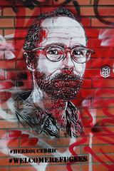 Welcome ReFugees (HBA_JIJO) Tags: streetart urban graffiti vitry vitrysurseine pochoir stencil art france hbajijo wall mur painting paris94 peintue migrant