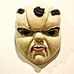 Mask (Fat Man) (1942) - Heine Semke (1899 - 1995) (pedrosimoes7) Tags: heinesemke caloustegulbenkianmuseum moderncollection lisbon portugal national tiles museum ✩ecoledesbeauxarts✩ caloustegulbenkianmuseummoderncollection