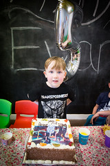 Evans 5th Birthday