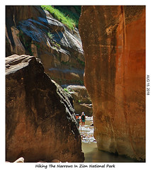 2D-TheNarrows-113 (stereo_eyz) Tags: zion nationalpark utah virginriver hiking canyon rock narrows
