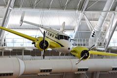 "Beechcraft D18S ""Twin Beech"" (Ian E. Abbott) Tags: beechcraft beech d18s d18 beech18 twinbeech nationalairandspacemuseum nasm stevenfudvarhazycenter udvarhazy"
