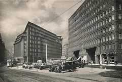 Hamburg, Germany. c 1930 (stuartjames5) Tags: hamburg 1930 chilehaus sprinkenhof