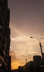 Gold hour (cris.cristiana43) Tags: sky golden dramatic dramaticsky bucharest bucuresti city clouds urban romania
