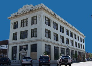 Rock Springs Wyoming - The First National Bank Building -  aka - Security Bank Building - Historic