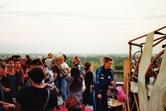 SUMMER OF LOVE (marlinhelene2) Tags: teufelsberg berlin slowtechno festival party 35mm film filmlove analog analogcolors somethingslow documentary