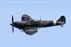 8741 City of Exeter Spitfire (photozone72) Tags: eastbourne airshows aircraft airshow aviation canon canon7dmk2 canon100400f4556lii 7dmk2 spitfire warbirds wwii cityofexeter