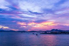Magic Hour (CornFee) Tags: hongkong magichour sky sunset sea clouds