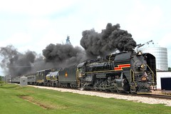 6988 at Victor (rockislandlines) Tags: iowainterstate 6988 railroad brooklyn trains rockisland iowa victor steamengine iais qjs