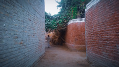 Ahmed pur, Khairpur Mir's, Sindh, Pakistan . #AliJawadphotography (ali.jawadphotography) Tags: instago narrow window stone old architecture gothic city wall arch instatravel traveling outdoors ancient castle door street town building house brick visiting alijawadphotography
