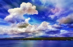 Dreamy Clouds (Jocelyn777) Tags: water ocean sea clouds cloudscapes landscapes seascapes adriaticsea hvar hvarisland croatia balkans travel textured