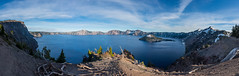 Gorgeous Crater lake on a spring day, Oregon, USA (tvrdypavel) Tags: beauty caldera cascade clear cliffs cone crater day deep dynamic gorgeous high ice island lake mount mountain national nature nobody north northwest oregon pacific peaceful peak pinnacles pure quiet range reflection rugged scenery scenic shadow snow spring states still tourism tranquil trees usa vista vivid volcano water wilderness winter wizard