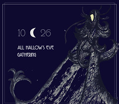 ALL HALLOWS EVE INVITE-WEB-2018 (BECCA PONS [bp] + CREATIVE) Tags: becca pons rebecca card design print digital halloween party invite invitation creepy art spooky ink pen and artwork witch drawing marketing graphic artist new orleans deco black illustration eventwebsitedesign websitedesign invitationdesign