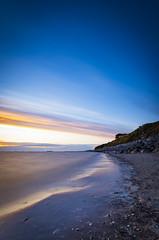 Caldy beach sunset (Lukasz Lukomski) Tags: wirral england greatbritain landscape sunset longexposure lukaszlukomski nikond7200 sigma1020 caldy dee tide