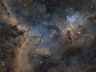 Melotte 15 the centre of the Heart Nebula