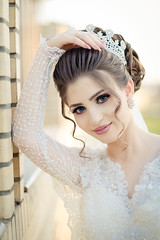 Sara Portrait (Sparkphotopro) Tags: bride portrait outdoor attractive beautiful beauty bridal cheerful dress elegant event fashion female girl groom hair hairstyle happiness happy healthy holiday lady make makeup marriage model natural nature pretty spring style wedding white woman young