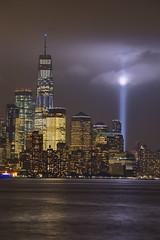 Manhattan September 11 2018 5 (dennisgg2002) Tags: nyc new york city september 11 911 manhattan hoboken world trade center tribute light skyline night skyscraper sky building water