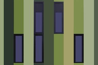Greenish abstract School