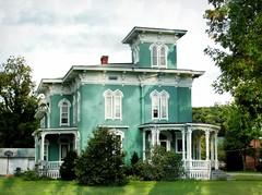 Tall Skinny Windows (e r j k . a m e r j k a) Tags: pennsylvania titusville home abode house familytree summer erjk crawford archive encore 2011