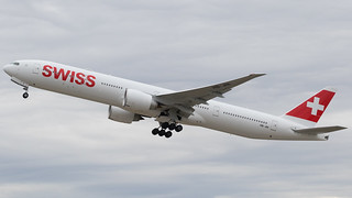 ZRH - Swiss Boeing 777-300 HB-JNI