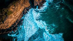 O'neills bay - West coast - New Zealand - Dji Mavic Pro (Moa-photography-nz) Tags: drone art sea cliffs sunset beach west coast new zealand auckland bethells beauty cinematic amazing colour color aerial wideangle view orange blue mystic landscape rocks big wanderlust travel adventure