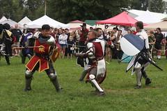 Knight Fight (Itinerant Wanderer) Tags: pennsylvania buckscounty wrightstown villagerenaissancefaire