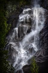 Shannon Falls (Repp1) Tags: bc canada shannonfalls waterfall cascade chutedeau dramatic dramatique dark highcontrast sombre fortecontraste