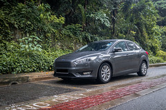 Ford Focus (JJLeongg) Tags: ford fordfocus focus sedan family familycar singapore grey mountfaber 5seater