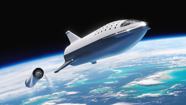 BFR at stage separation
