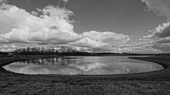 Spring landscape (Steenjep) Tags: sø lake landskab landscape sky cloud himmel herning jylland jutland danmark denmark lillelund engpark lillelundengpark miljø klimasikring klimasø