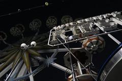 Circus (theflyingtoaster14) Tags: circus carousel zirkus karussell night vienna wien nacht dark steel böhmischer prater mechanic mechanik wheel rad aesthetic canon g1x mark ii