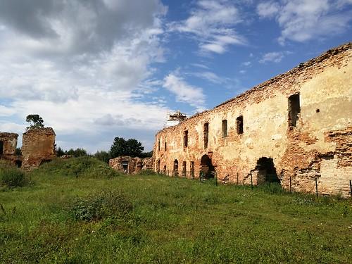 Ruiny zamku w Holszanach