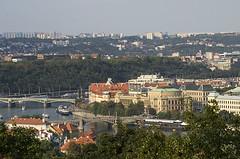 Prague - View from Petrin hill (dominique cappronnier) Tags: prague czech republic petrin view