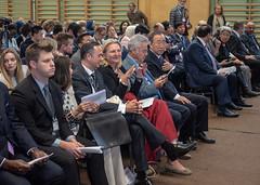 Karin Kneissl nimmt an den Politischen Gesprächen beim Europäischen Forum Alpbach 2018 teil. (Österreichisches Außenministerium) Tags: empowerment women nachhaltigkeitsziele politischegespräche frauen forumalpbach sdg youth jugend uno tirol österreich