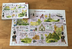 500 piece Edinburgh puzzle. (Helen725) Tags: scotland edinburgh puzzles