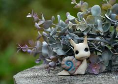 TGIF. Have a great one! (air_dan) Tags: mushroom peddler bjd pet snail