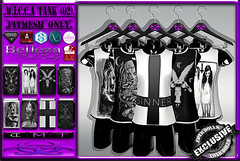 [TD] W.I.C.C.A Tank [02] (.☣.†ᴏxɪᴄÐᴏɪɪs.☣.) Tags: tank male man guy top muscle sl secondlife slink singlet shirt signature gianni gothic grunge goth product punk aesthetic adam belleza david jake nx nardcotix fashion fitted fitmesh fair darkness thedarknesssevent event exclusive toxic toxicdolls tmp wicca