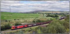 Headed for Swansea Burrows (Welsh Gold) Tags: 60015 6o10 onllwyn swansea burrows coal empties mea wagons dulaisvalley southwales