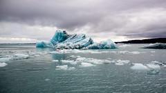 icebergs at jokulsarlon (Erbin D'kay) Tags: iceland iceberg jokulsarlon glacierlagoon