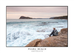 Woman sitting by the ocean (sugarbellaleah) Tags: female people australia pearlbeach beach clouds flowing landscape nature ocean outdoors seascape water waves woman watching sitting relaxation tranquility sky surf motion pretty amazing unwind chillingout adventure travel tourism vacation