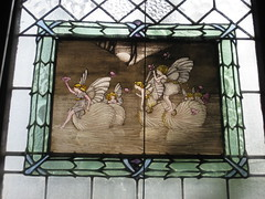 The Picture Panel of the Third Ida Rentoul Outhwaite Stained Glass Children's Library Window - George Street, Fitzroy (raaen99) Tags: idarentoulouthwaite idarentoul idaouthwaite artist childrensbookillustrator illustrator 1926 1920s painter idarentoulouthwaitestainedglasswindows idarentoulouthwaitestainedglass library fitzroychildrenslibrary stmarkschildrenslibrary readingroom stmarktheevangelistchildrenslibrary handpainted childrensliterature fairytale fairytales childrensstory childrensstories australianliterature australianchildrensliterature fairy fairies faerie faeries elves elf story australianfairystory australianartist australianillustrator australianchildrensillustrator illustration elvesandfairies elvesfairies fairyland bookillustrator bookillustration literature childhood stainedglass stainedglasswindow window stmarktheevangelist stmarks stmarksfitzroy stmarksanglican churchofengland anglicanchurch anglican fitzroychurch fitzroy georgest georgestreet church placeofworship religion religiousbuilding religious melbourne