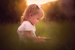Kids Today ({jessica drossin}) Tags: jessicadrossin portrait child phone light grass canon toddler baby kid