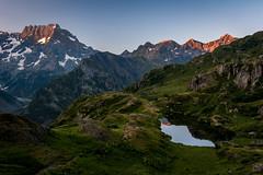 Lac du Lauzon (2 008m) (Julie. D) Tags: paysage landscape alpes alps écrins valgaudemar lauzon lacdulauzon laclauzon lake lac france frenchalps nature montagne montagnes mountain moutains nikon d7100